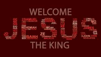 Welcome Jesus the King