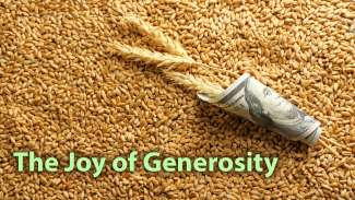 The Joy of Generosity